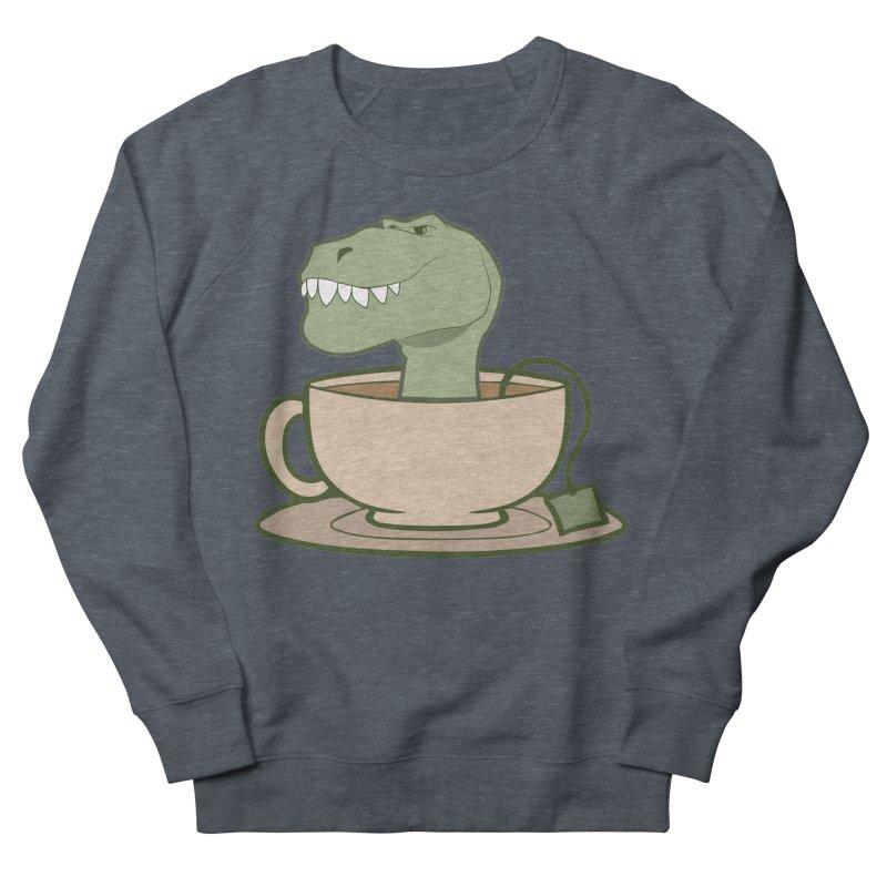 Tea Rex Women's French Terry Sweatshirt by daniac's Artist Shop