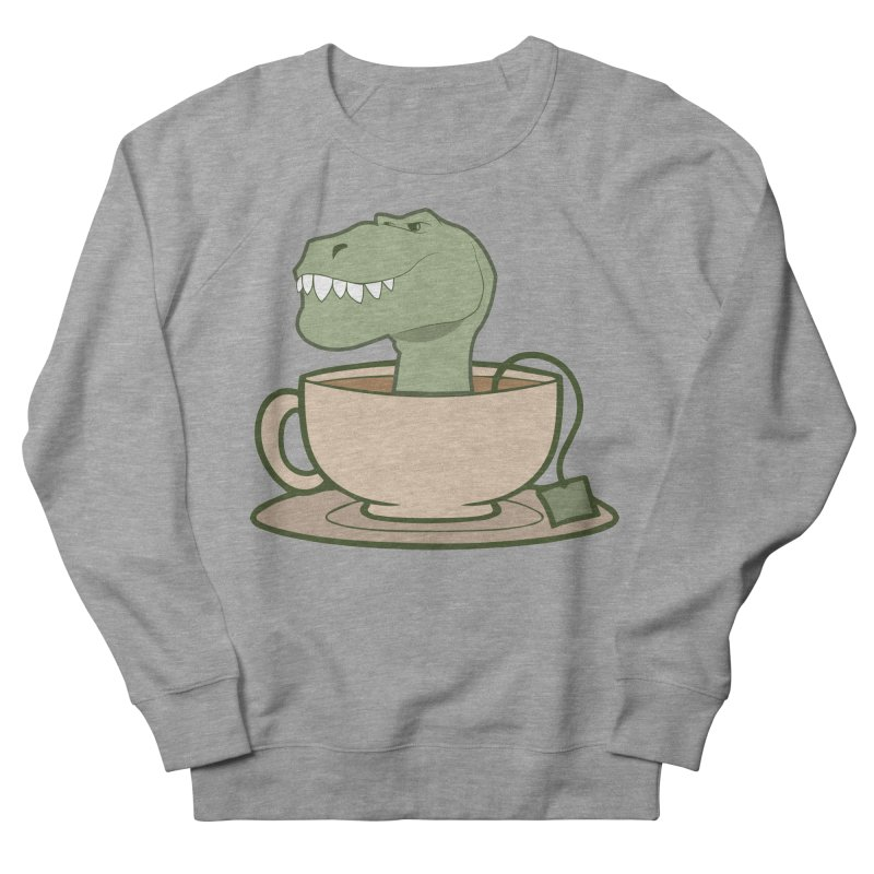 Tea Rex Women's French Terry Sweatshirt by daniac's Artist Shop