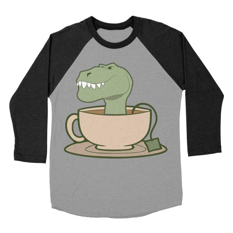 Tea Rex Women's Baseball Triblend Longsleeve T-Shirt by daniac's Artist Shop