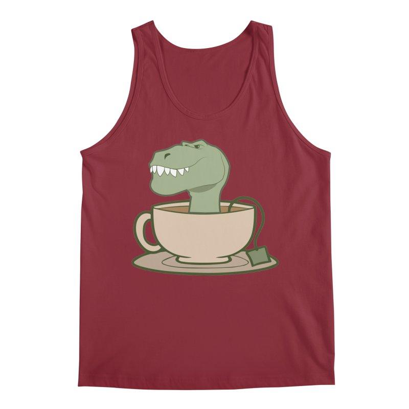 Tea Rex Men's Regular Tank by daniac's Artist Shop