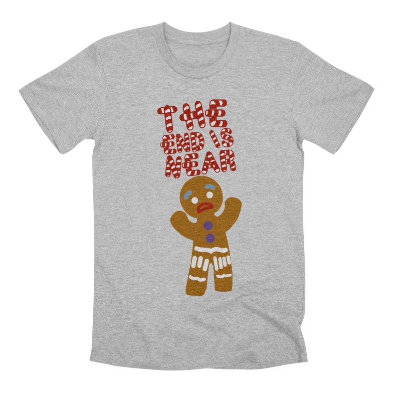 The end is near Men's Premium T-Shirt by daniac's Artist Shop