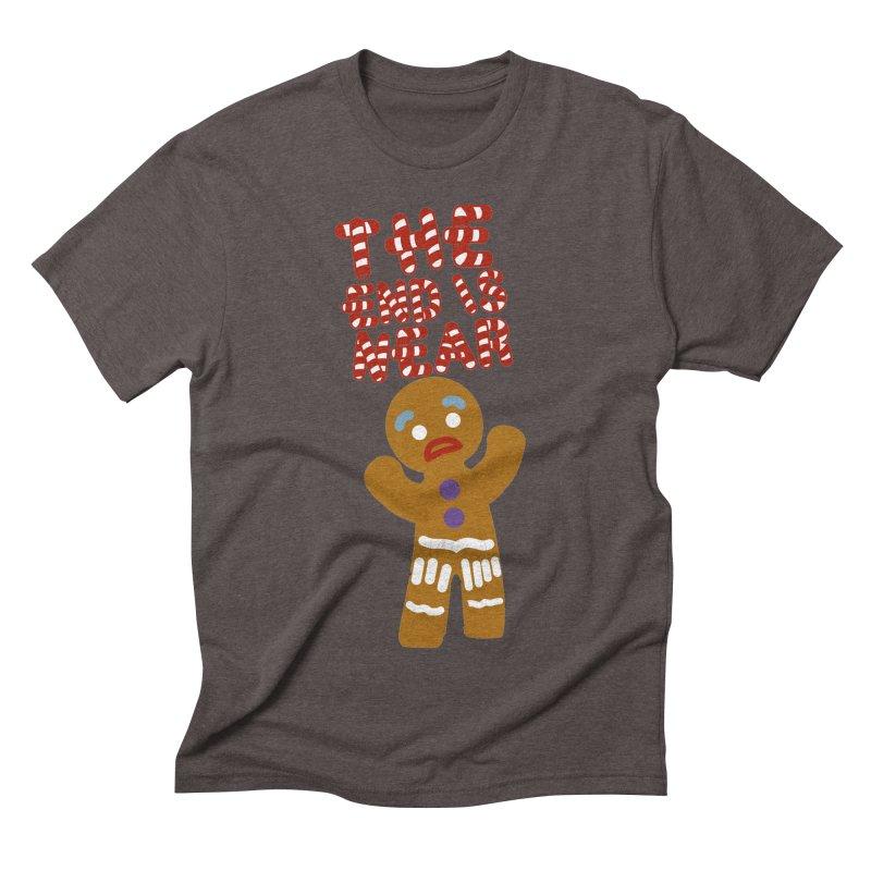 The end is near Men's Triblend T-Shirt by daniac's Artist Shop