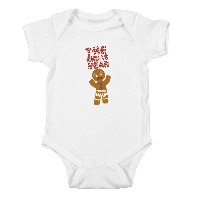 The end is near Kids Baby Bodysuit by daniac's Artist Shop