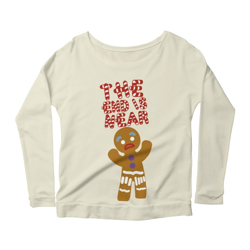 The end is near Women's Scoop Neck Longsleeve T-Shirt by daniac's Artist Shop