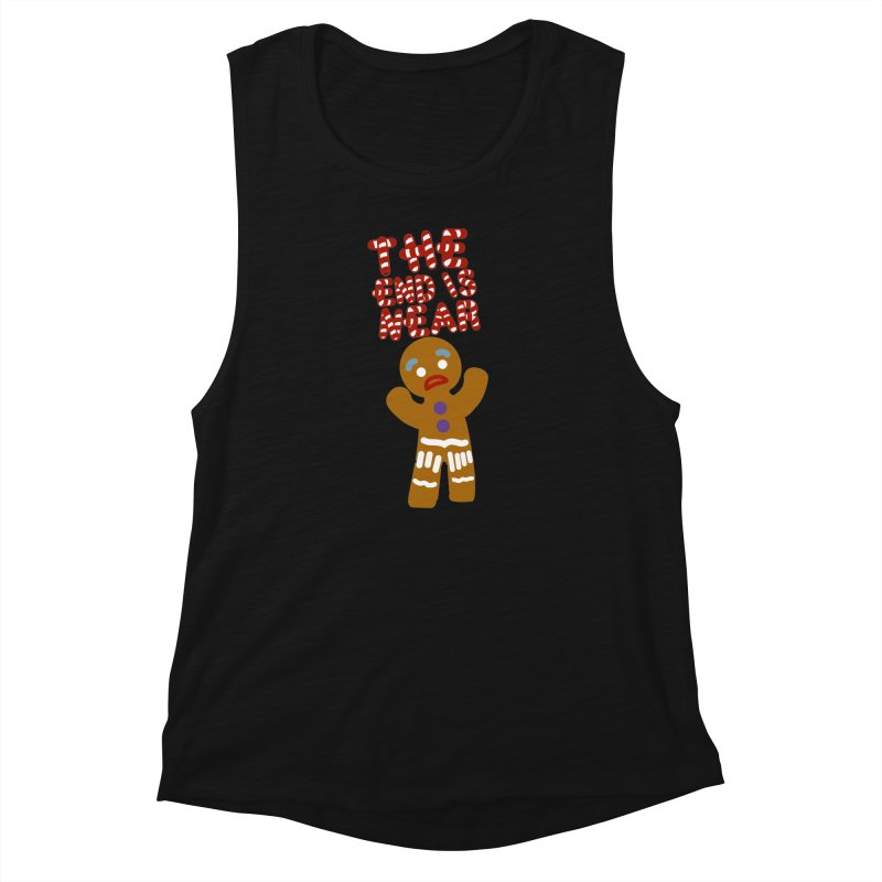 The end is near Women's Muscle Tank by daniac's Artist Shop