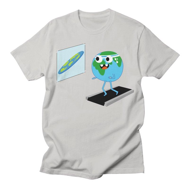 Flat earth Women's Regular Unisex T-Shirt by daniac's Artist Shop