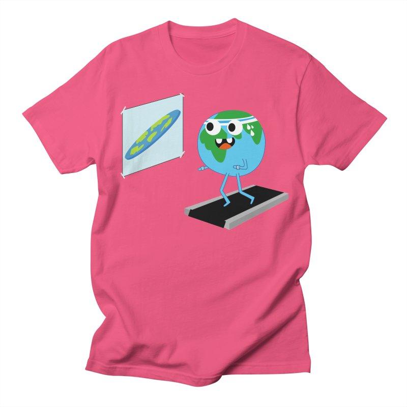 Flat earth Men's Regular T-Shirt by daniac's Artist Shop