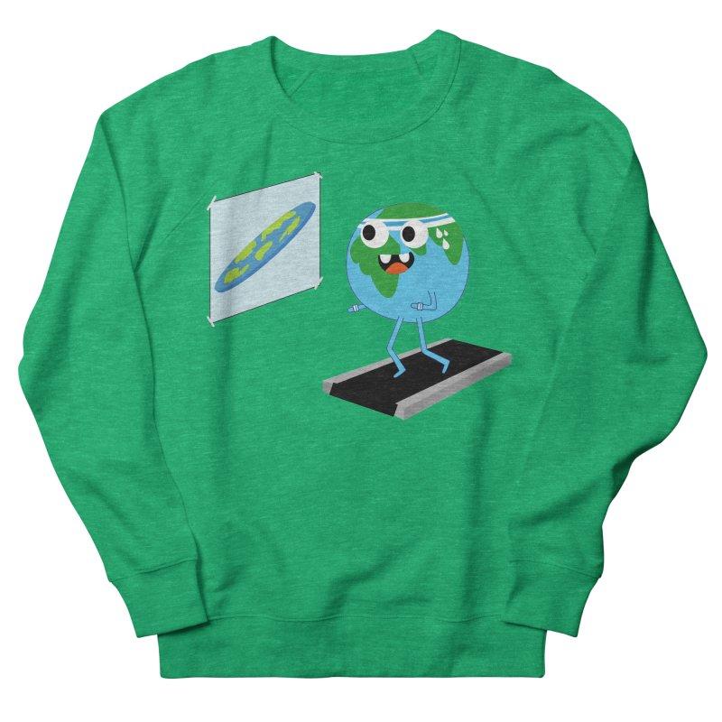 Flat earth Women's Sweatshirt by daniac's Artist Shop
