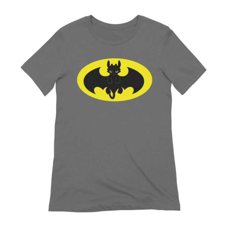 toothless batman Women's T-Shirt by daniac's Artist Shop
