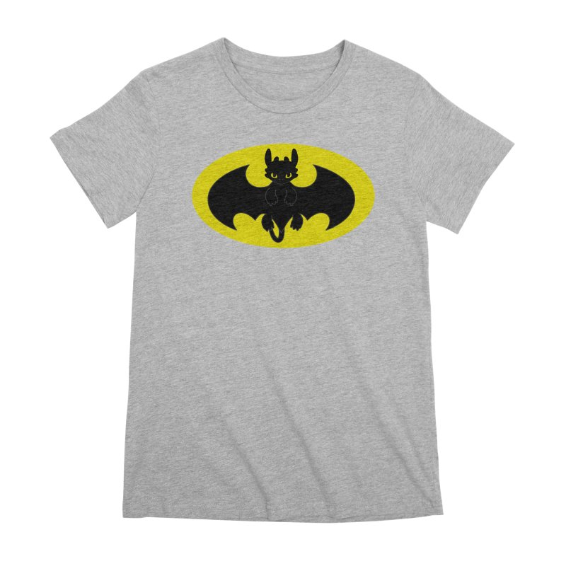 toothless batman Women's Premium T-Shirt by daniac's Artist Shop