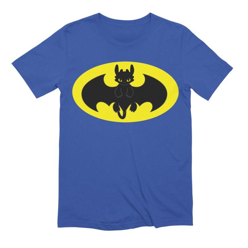 toothless batman Men's Extra Soft T-Shirt by daniac's Artist Shop