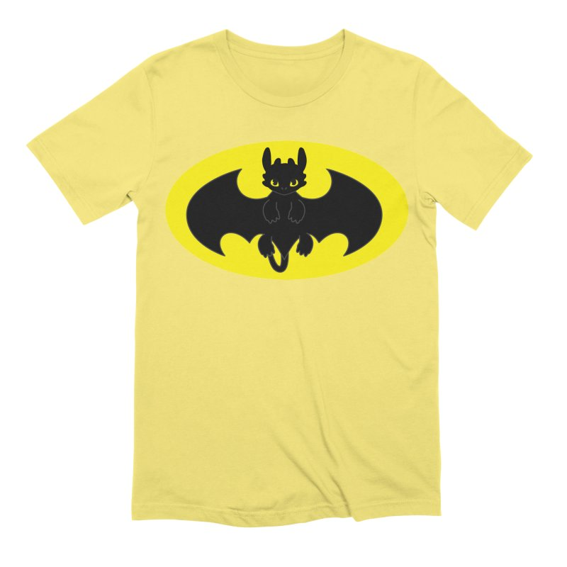 toothless batman Men's Extra Soft T-Shirt by daniac's Artist Shop