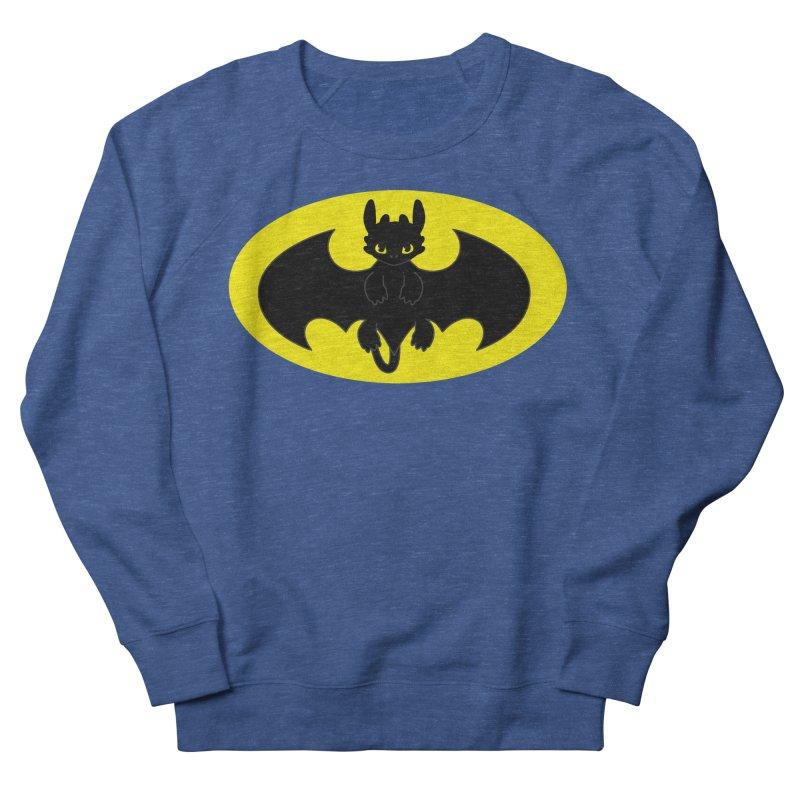 toothless batman Men's Sweatshirt by daniac's Artist Shop
