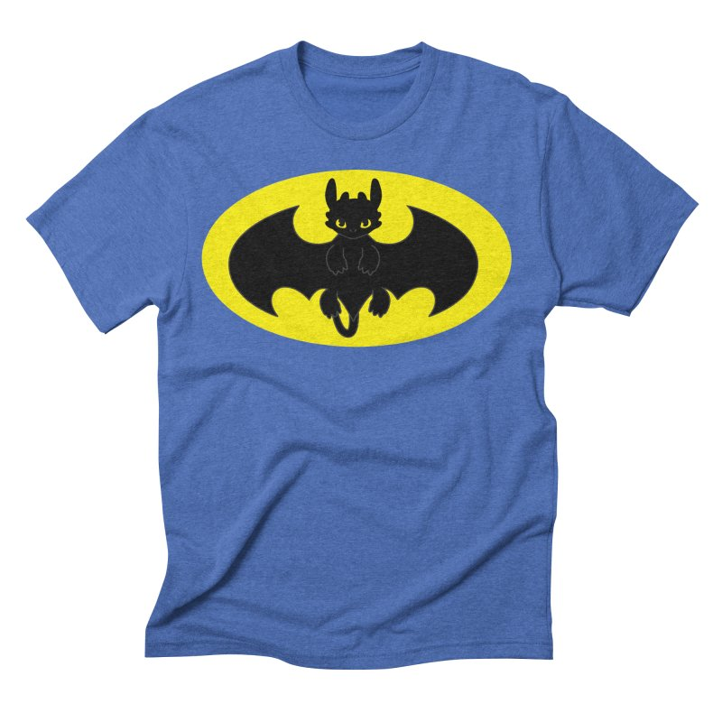 toothless batman Men's T-Shirt by daniac's Artist Shop