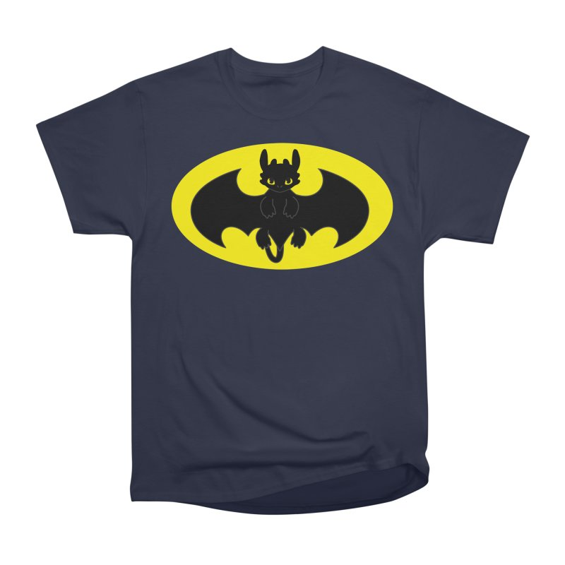 toothless batman Men's Heavyweight T-Shirt by daniac's Artist Shop