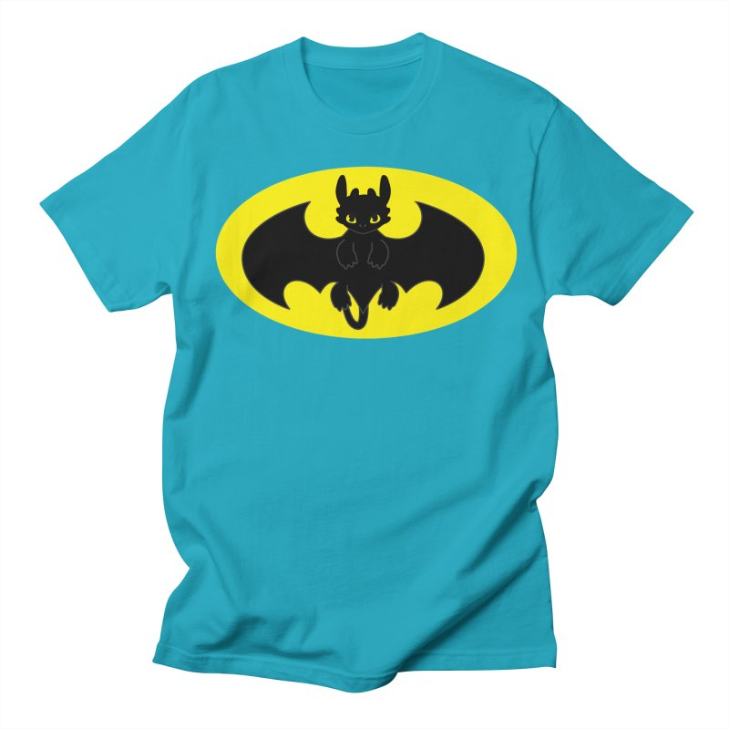 toothless batman Women's Regular Unisex T-Shirt by daniac's Artist Shop