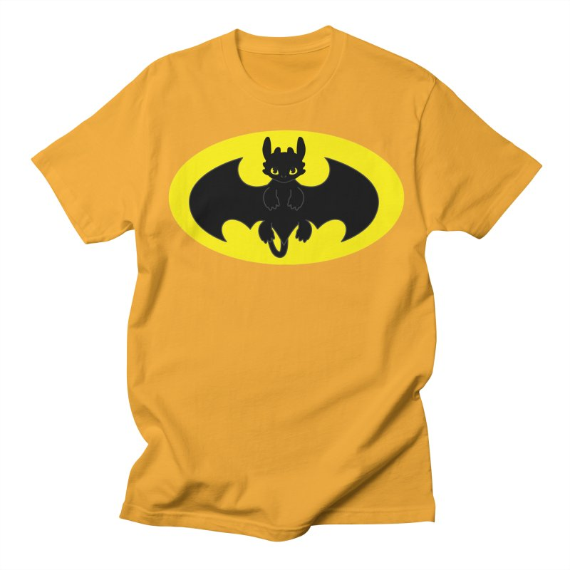 toothless batman Men's Regular T-Shirt by daniac's Artist Shop