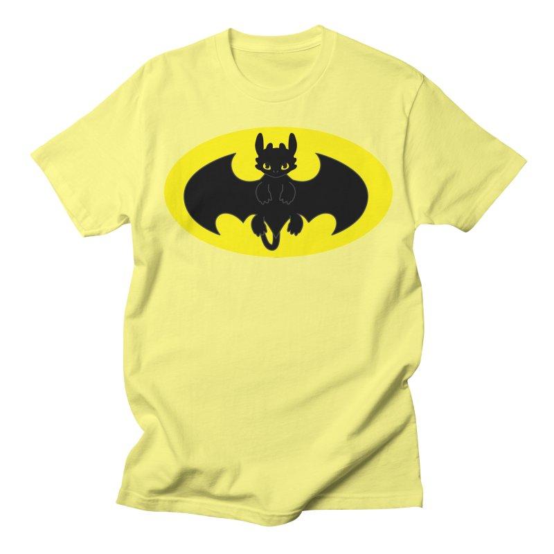 toothless batman Men's Regular T-Shirt by daniac's Artist Shop