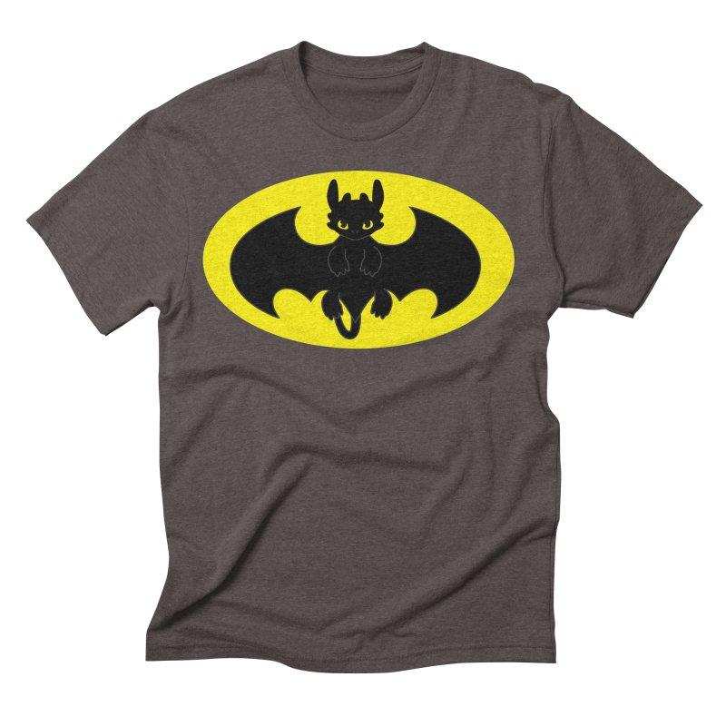 toothless batman Men's Triblend T-Shirt by daniac's Artist Shop