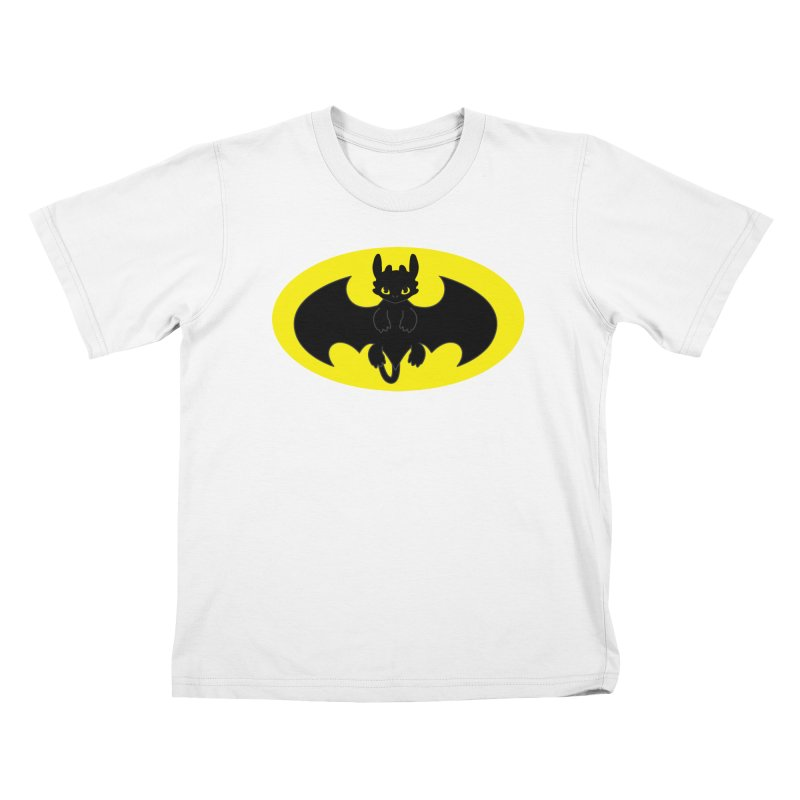 toothless batman Kids T-Shirt by daniac's Artist Shop