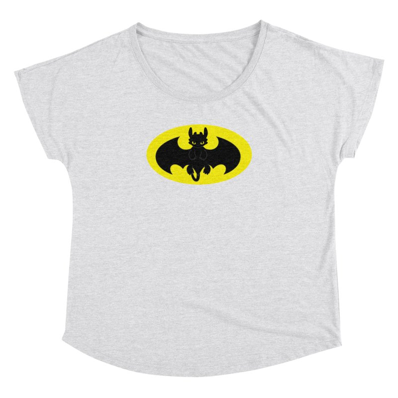 toothless batman Women's Dolman Scoop Neck by daniac's Artist Shop