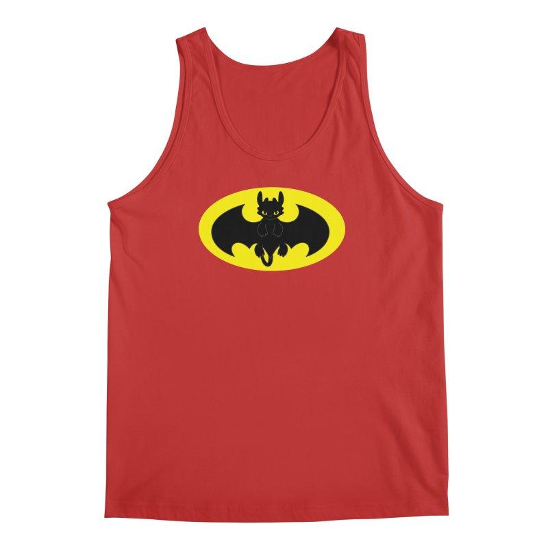 toothless batman Men's Regular Tank by daniac's Artist Shop