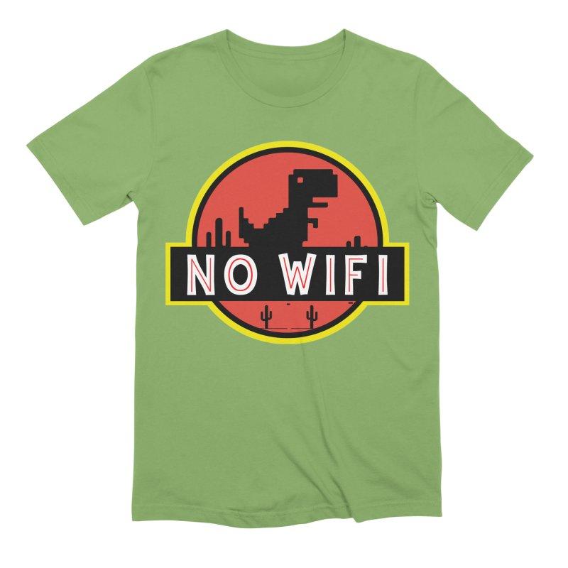 No Wifi Men's Extra Soft T-Shirt by daniac's Artist Shop