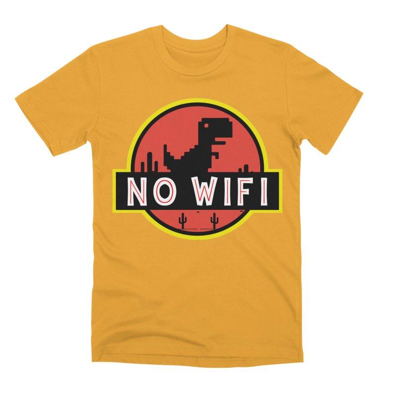 No Wifi Men's Premium T-Shirt by daniac's Artist Shop