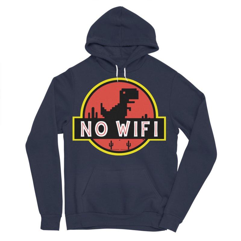 No Wifi Men's Sponge Fleece Pullover Hoody by daniac's Artist Shop