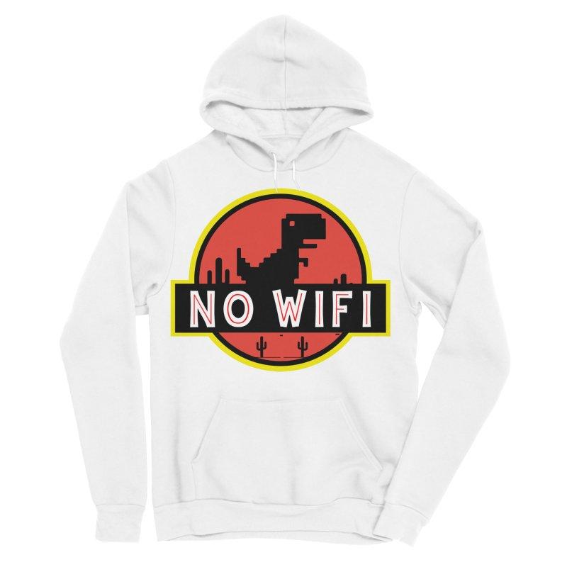 No Wifi Women's Sponge Fleece Pullover Hoody by daniac's Artist Shop