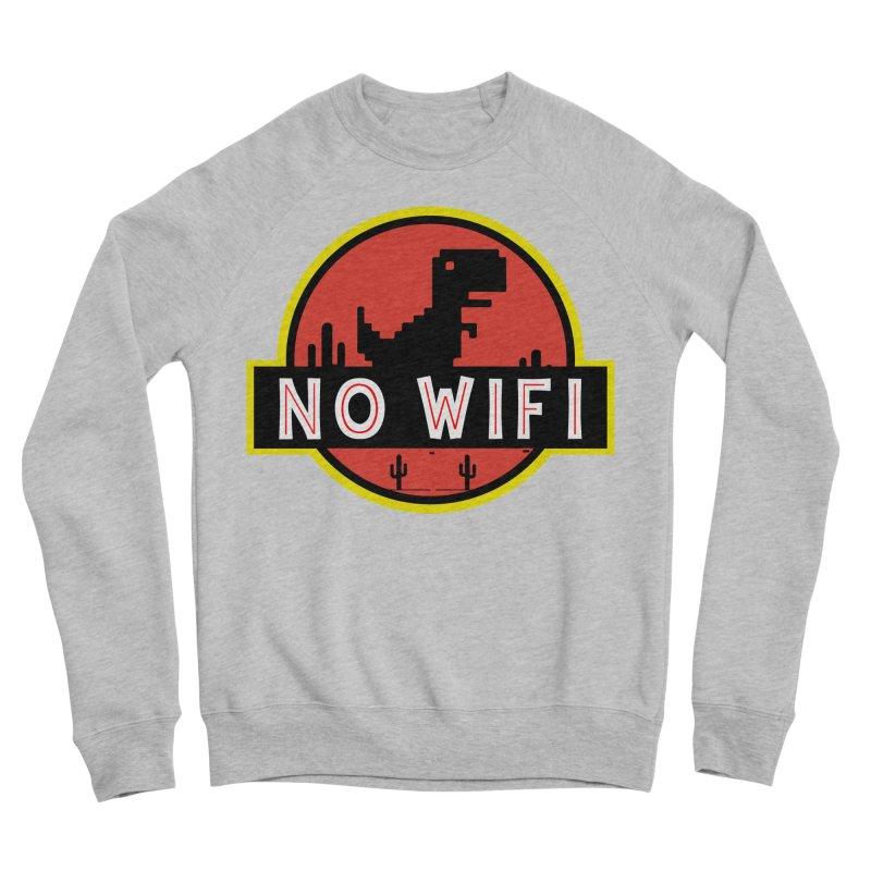 No Wifi Women's Sponge Fleece Sweatshirt by daniac's Artist Shop
