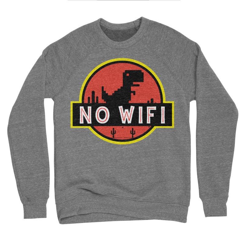 No Wifi Men's Sponge Fleece Sweatshirt by daniac's Artist Shop