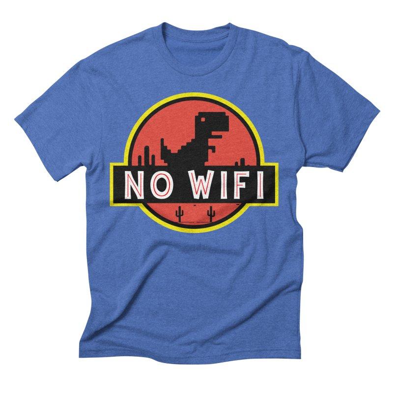 No Wifi Men's T-Shirt by daniac's Artist Shop