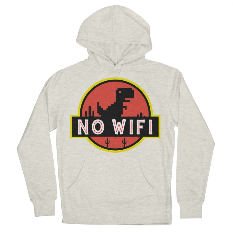No Wifi Women's French Terry Pullover Hoody by daniac's Artist Shop