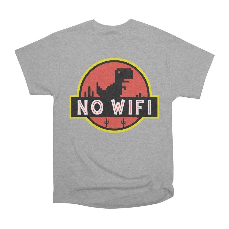 No Wifi Men's Heavyweight T-Shirt by daniac's Artist Shop