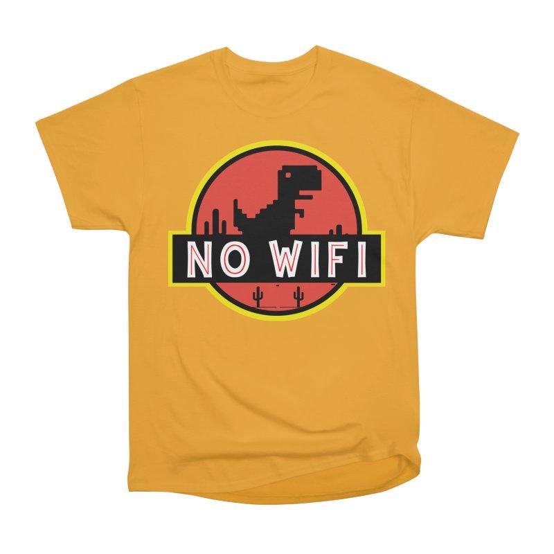 No Wifi Women's Heavyweight Unisex T-Shirt by daniac's Artist Shop