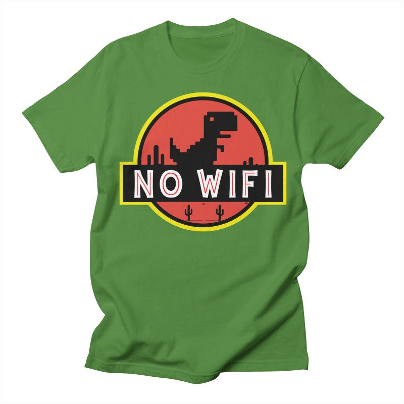 No Wifi Women's Regular Unisex T-Shirt by daniac's Artist Shop