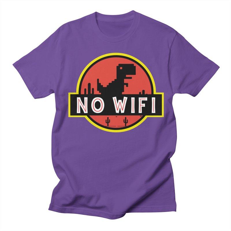 No Wifi Men's Regular T-Shirt by daniac's Artist Shop