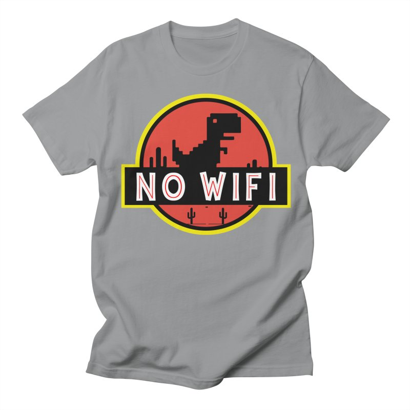 No Wifi Women's Regular Unisex T-Shirt by daniac's Artist Shop