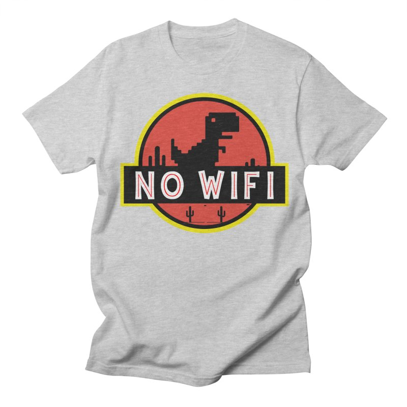 No Wifi Men's Regular T-Shirt by daniac's Artist Shop
