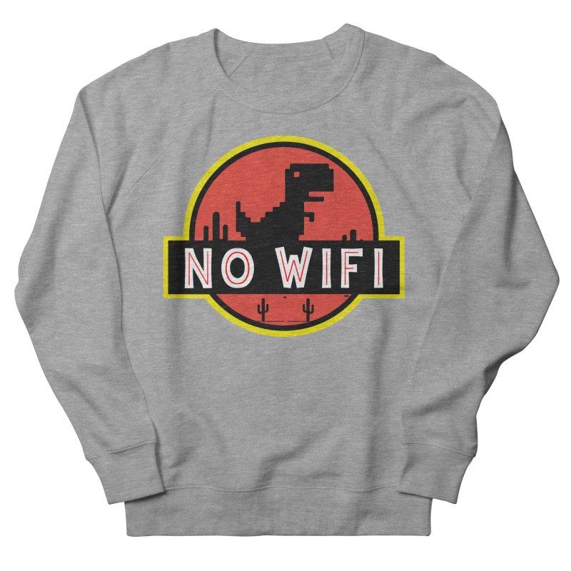 No Wifi Men's French Terry Sweatshirt by daniac's Artist Shop