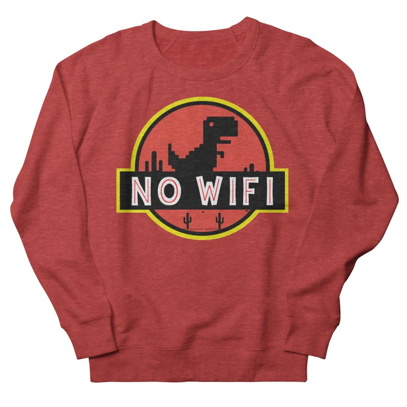 No Wifi Men's French Terry Sweatshirt by daniac's Artist Shop