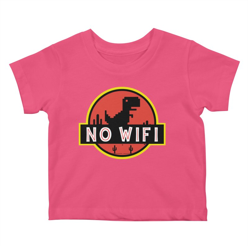 No Wifi Kids Baby T-Shirt by daniac's Artist Shop