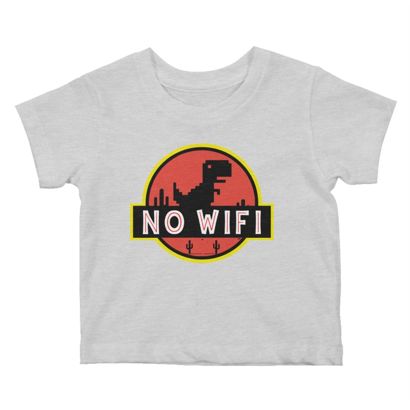 No Wifi Kids Baby T-Shirt by daniac's Artist Shop
