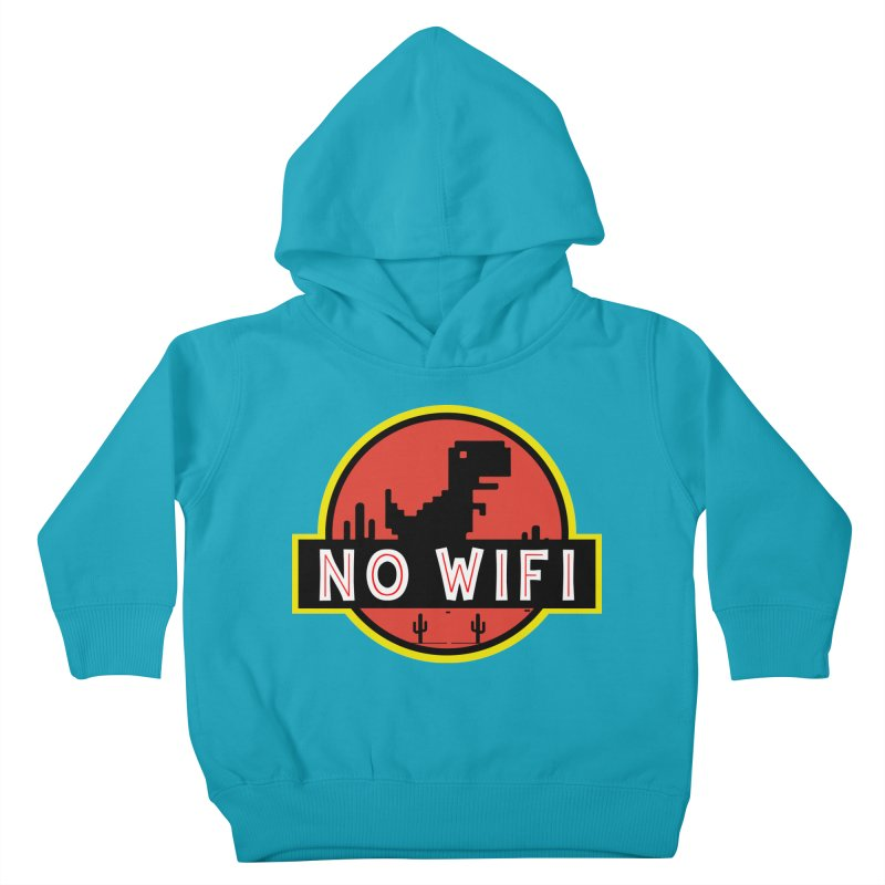 No Wifi Kids Toddler Pullover Hoody by daniac's Artist Shop