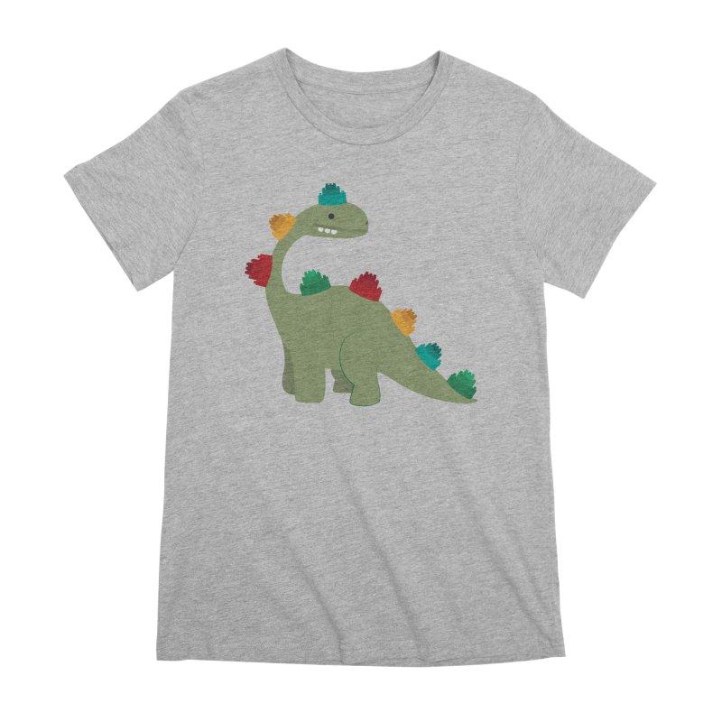 Legosaurus Women's Premium T-Shirt by daniac's Artist Shop
