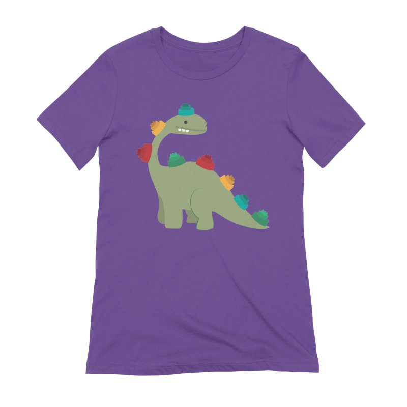 Legosaurus Women's Extra Soft T-Shirt by daniac's Artist Shop