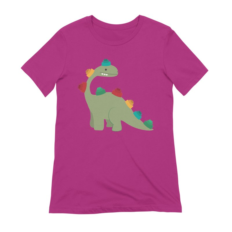 Legosaurus Women's Extra Soft T-Shirt by daniac's Artist Shop