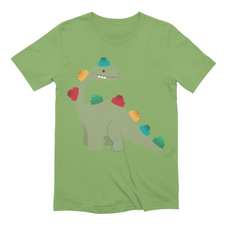 Legosaurus Men's Extra Soft T-Shirt by daniac's Artist Shop