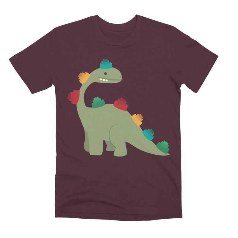 Legosaurus Men's Premium T-Shirt by daniac's Artist Shop